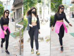 Raashi Khanna's Gym looks