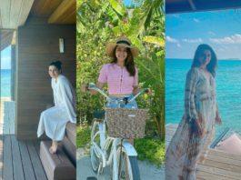 Samantha Akkineni vacays in Maldives !