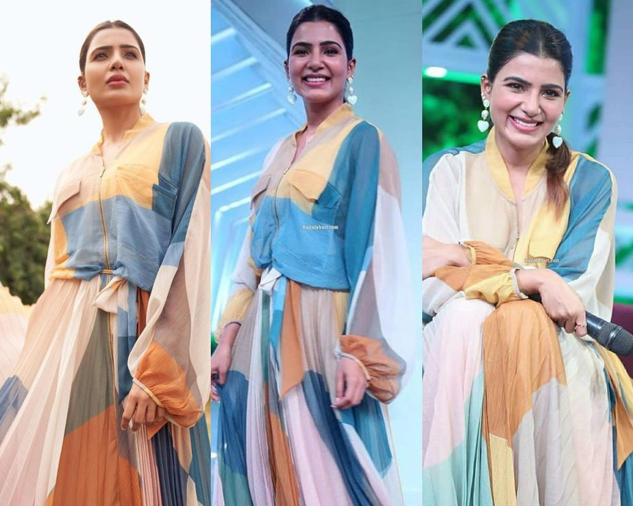 Samantha for sam-jam show launch featured