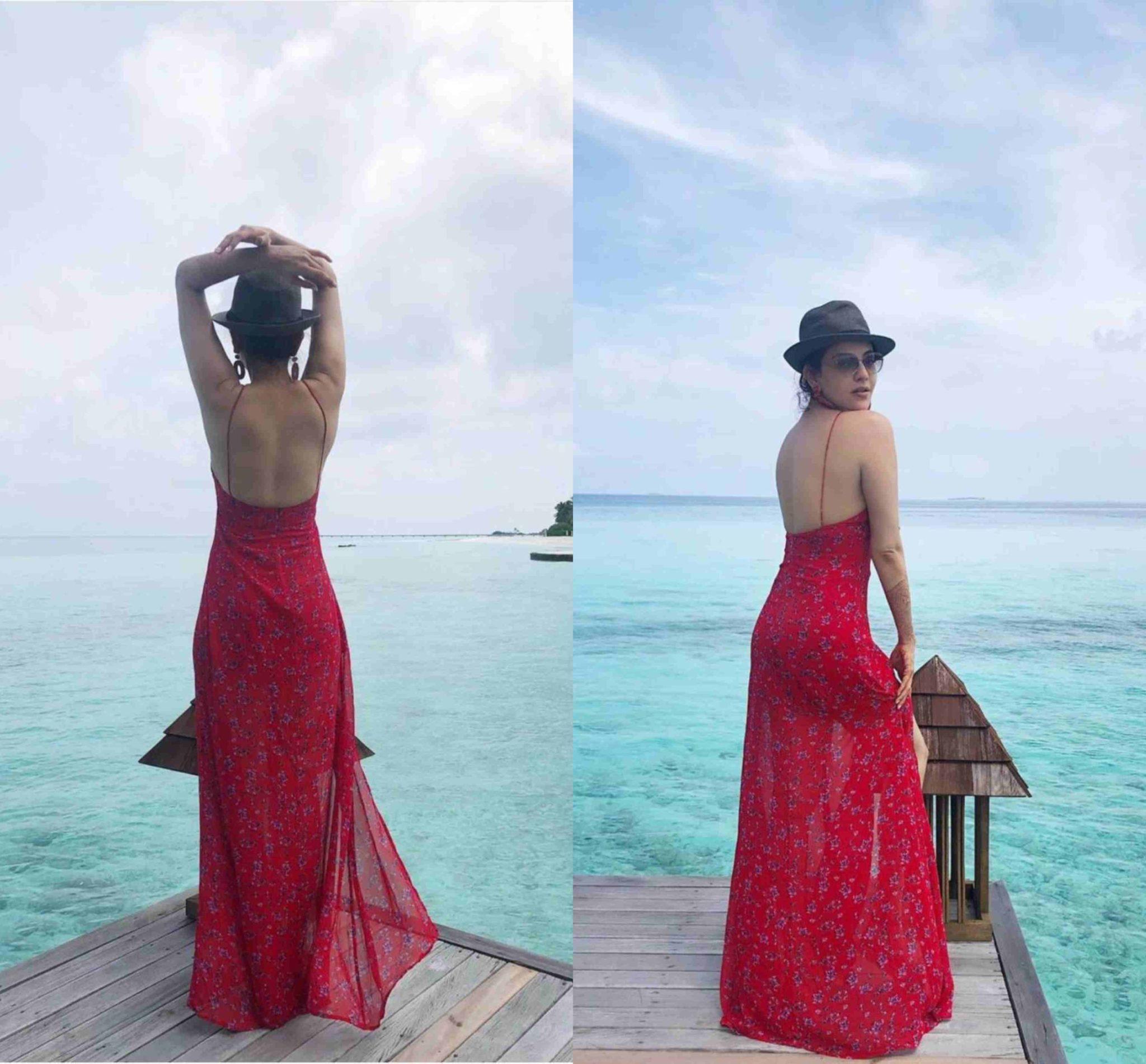 kajal aggarwal at honeymoon