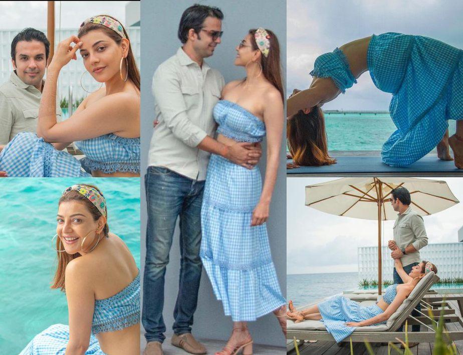kajal aggarwal honeymoon photos