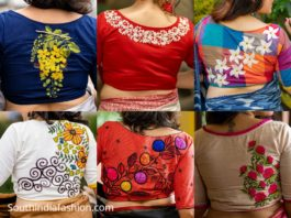 motif by chandrayee blouse designs