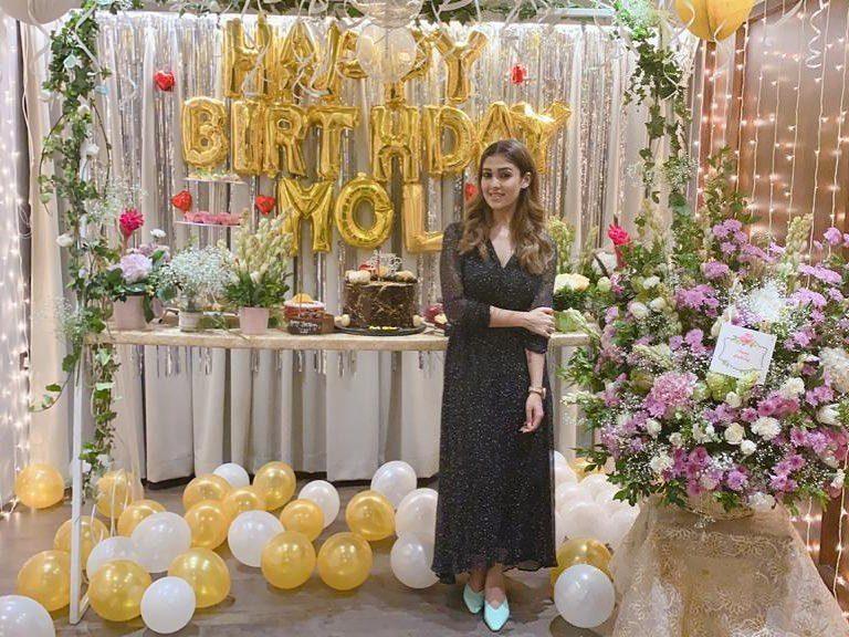 nayanthara birthday black dress photos