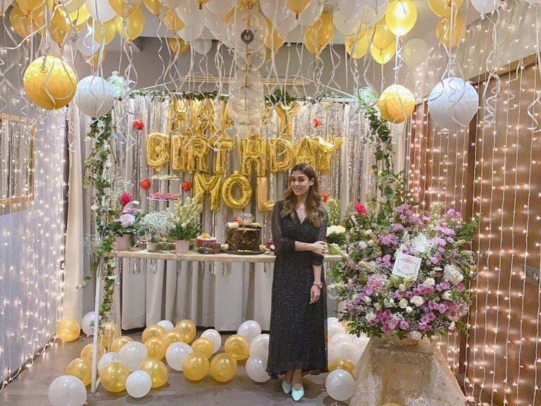 nayanthara birthday celebration decoration