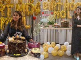nayanthara birthday celebration photos