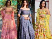 saina nehwal lehengas for gurusai dutt wedding