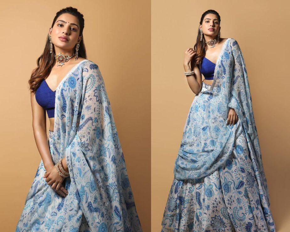 Samantha Prabhu Diwali Look