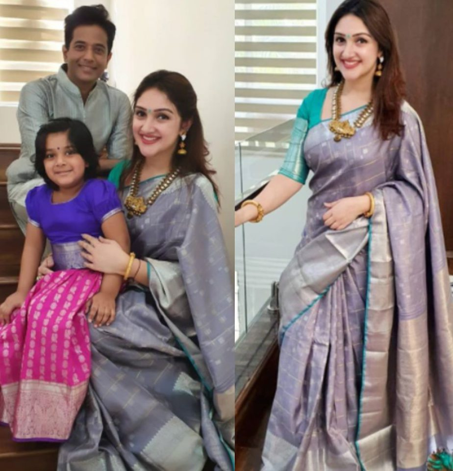 sridevi vijaykumar diwali celebrations with family