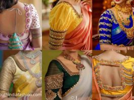 sruthi kannath bridal blouse designs
