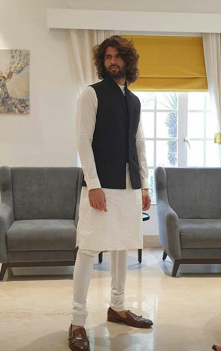 vijay devarakonda kurta pyjama (2)