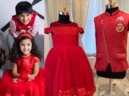 Allu Ayaan and Allu Arha in Sam and shruti Studio for christmas'20-featured (1)