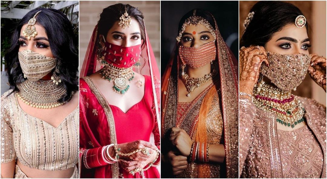 Designer bridal masks