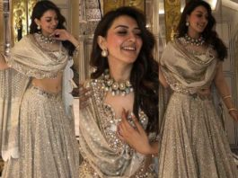 Hansika in an ivory lehenga by abhinav mishra featured (1)