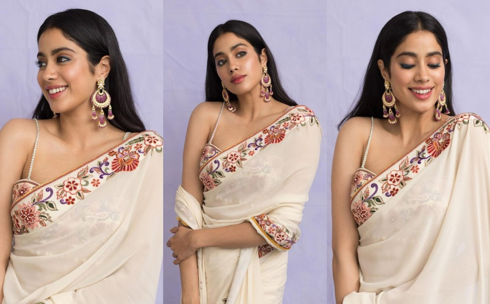 Janhvi Kapoor in Tarun Tahiliani saree