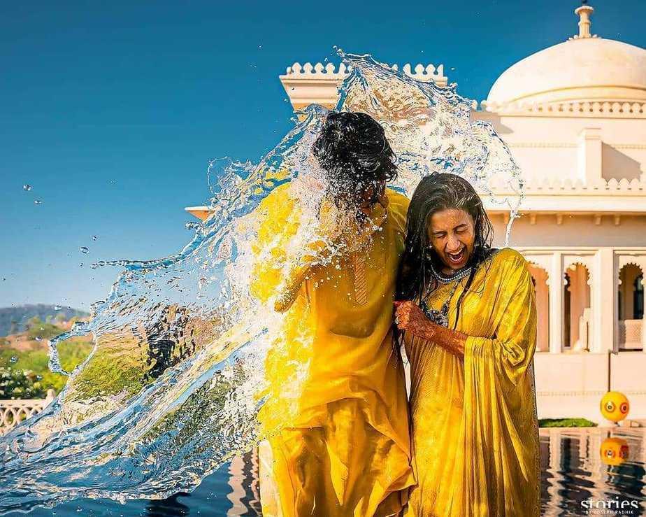 Niharika and Chaitanya haldi ceremony1.2