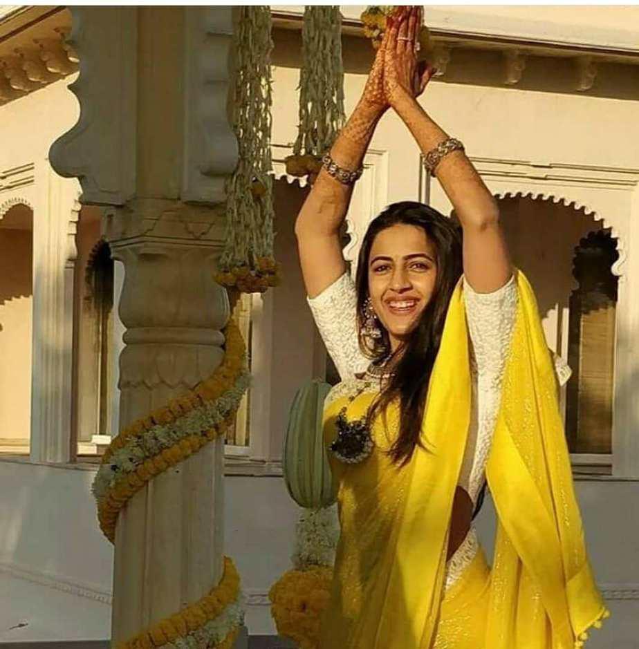 Niharika and Chaitanya haldi ceremony3