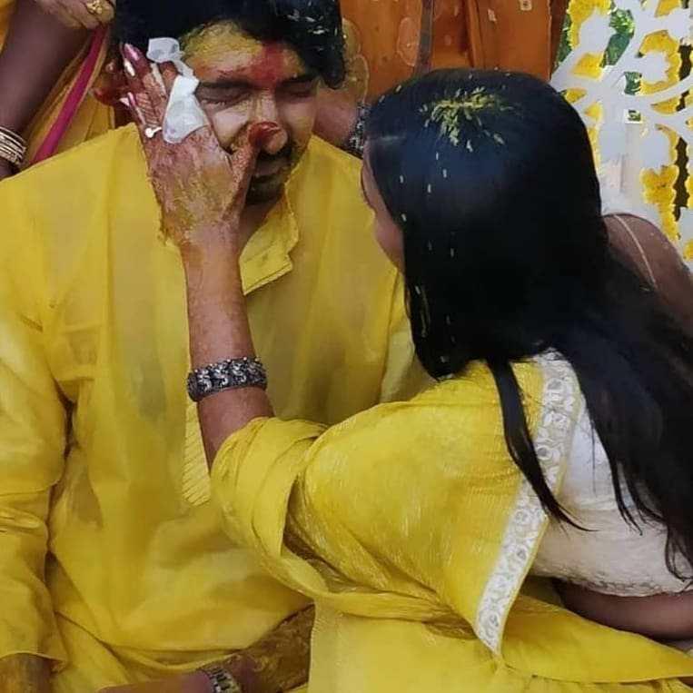 Niharika and Chaitanya haldi ceremony5