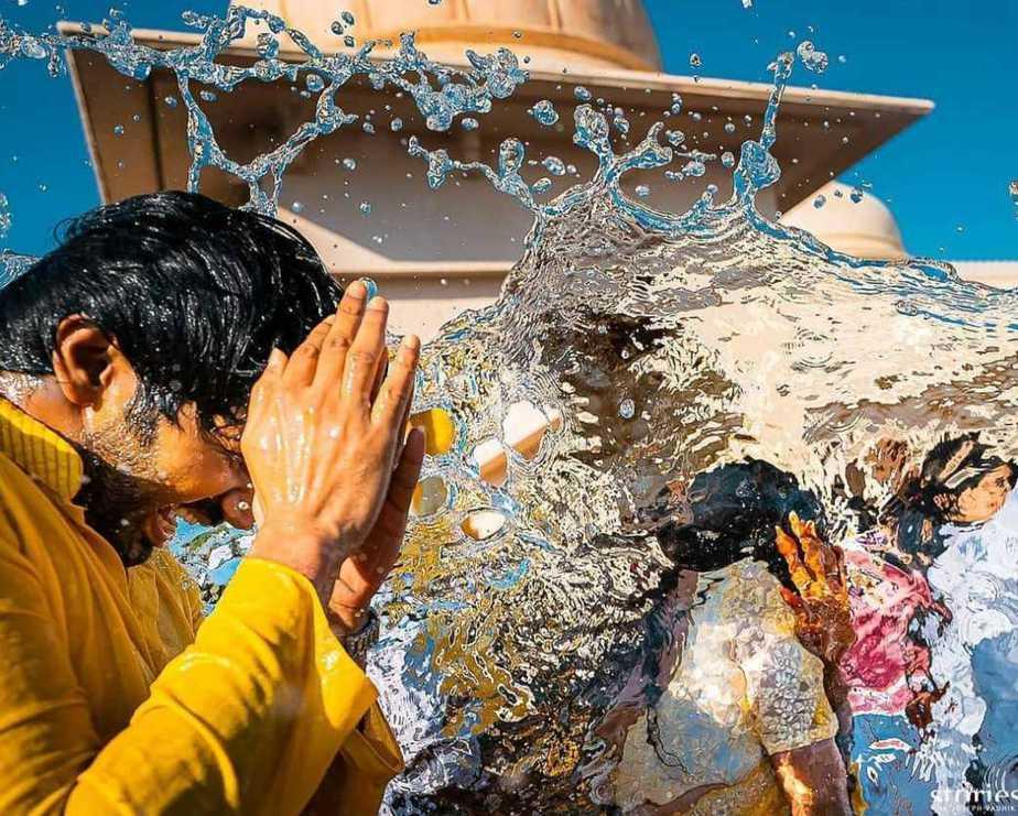 Niharika and Chaitanya haldi ceremony7