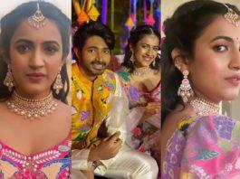 Niharika and chaitanya mehndi pics2.2