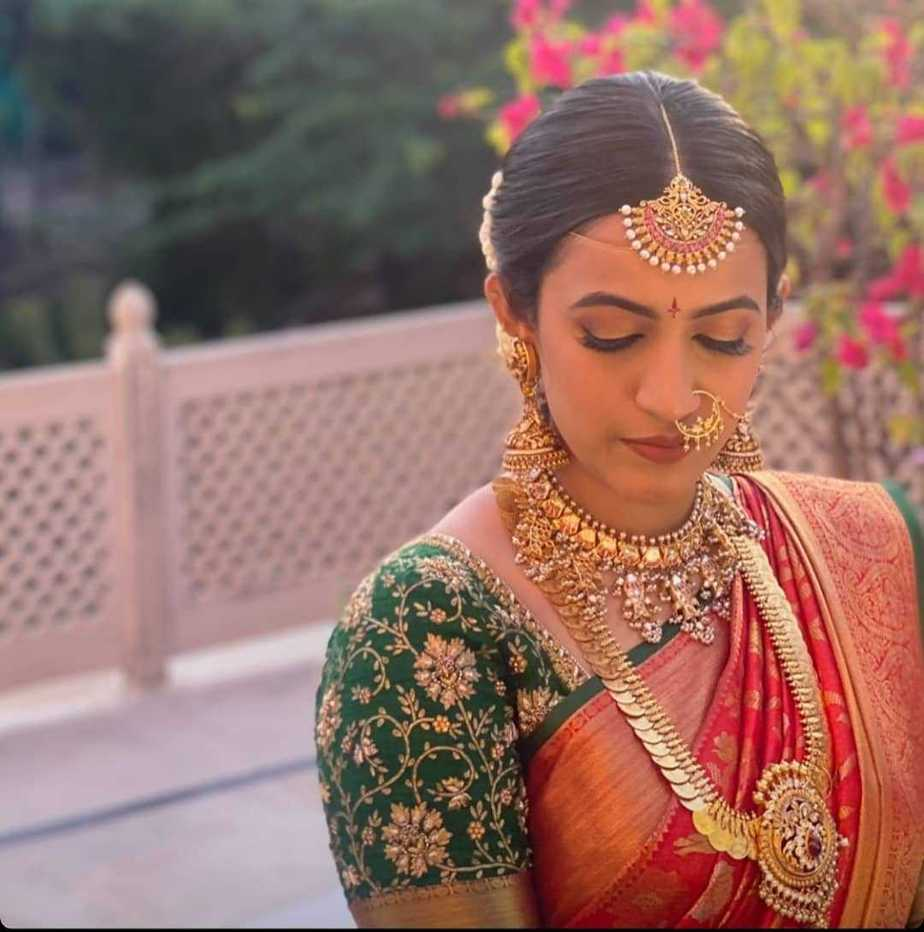 Niharika bridal look!