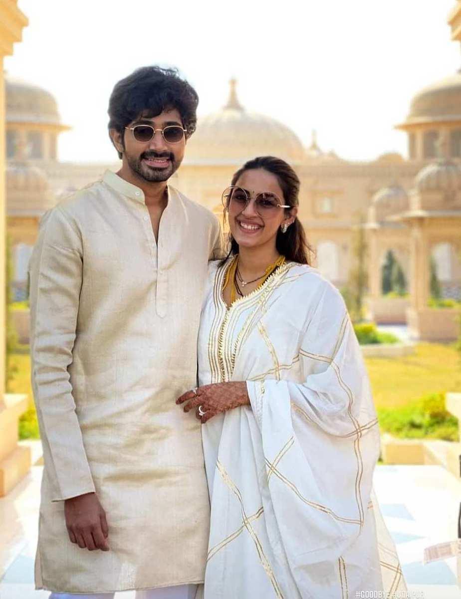 Niharika in ommanajaipure after wedding with husband chaitanya