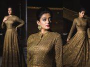 Priyamani in anarkali gown by Studio Amas