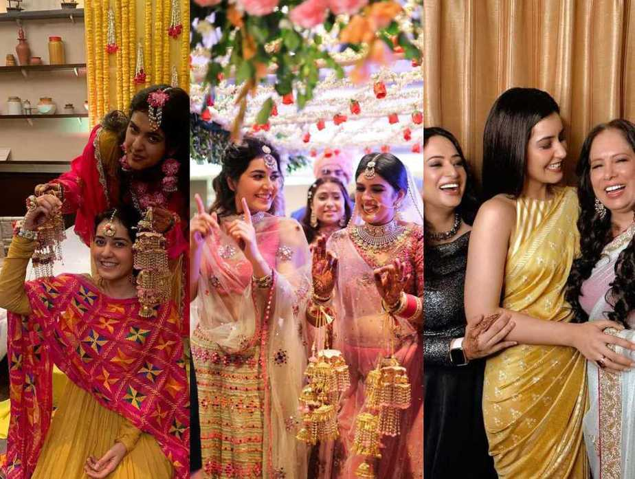 Raashi khanna's looks for her sister's wedding featured (1)