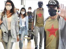 Rana Daggubati and miheeka bajaj on their way to vacation8