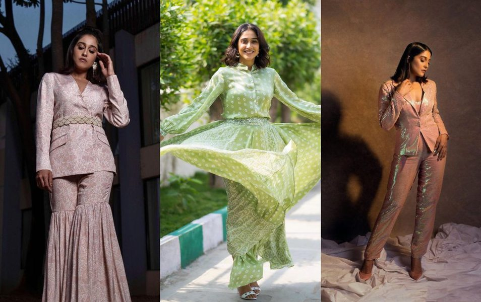 Regina Cassandra in 3 different looks