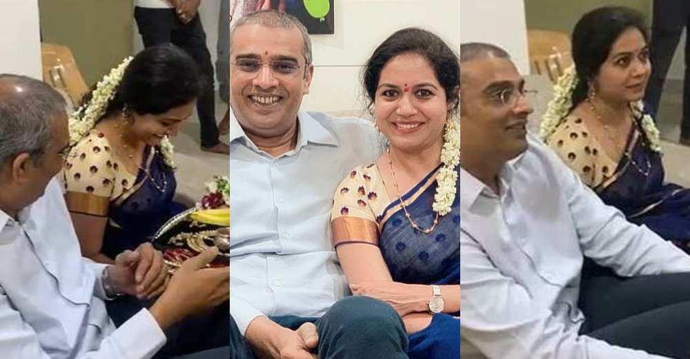 Singer U. Sunitha gets hitched again 1 (1)