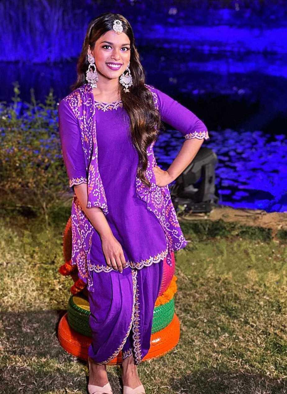 Sreeja kalyan at NisChay's mehndi ceremony3