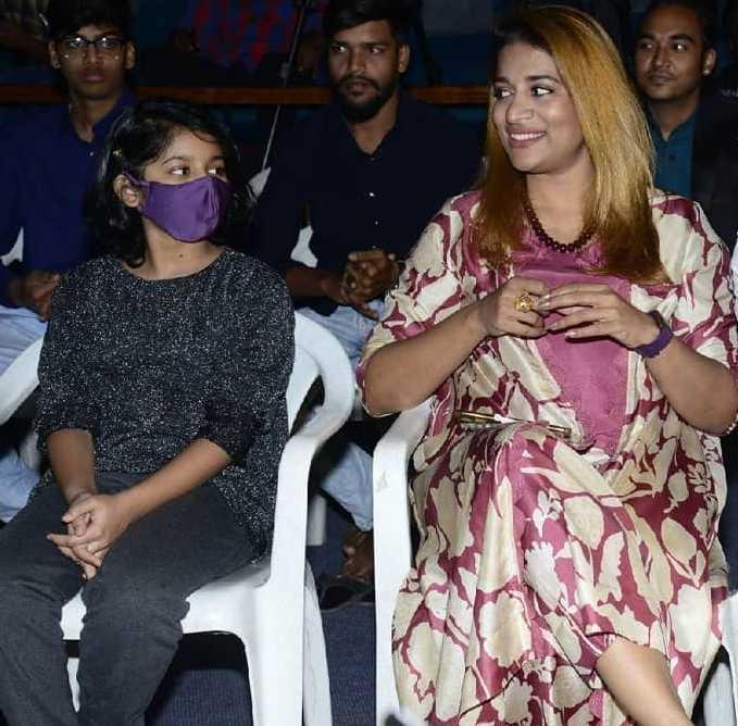 Sushmita konidela for shootout at al air show unveiling2.2