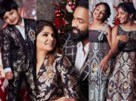 Vishnu Manchu and family in black outfits by maison ava for christmas'20-featured