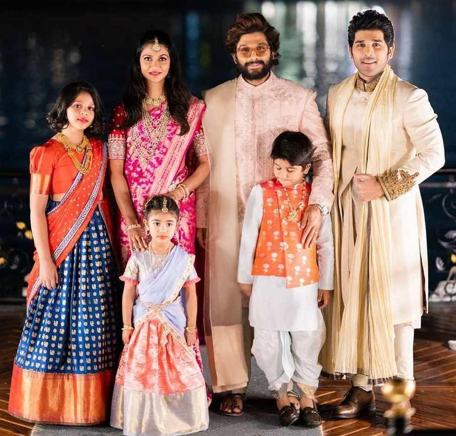 allu arjun family niharika wedding