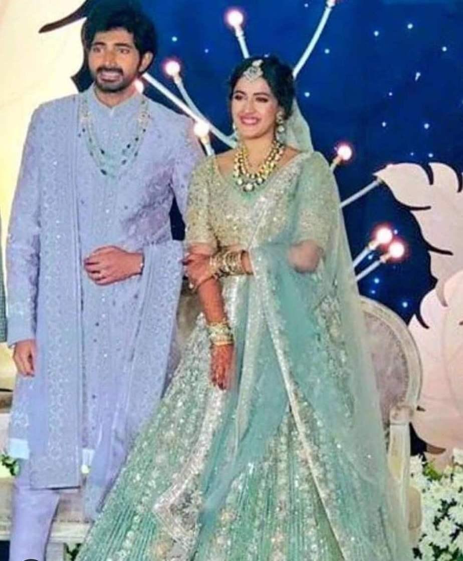 niharika and chaitanya hyderabad wedding recption