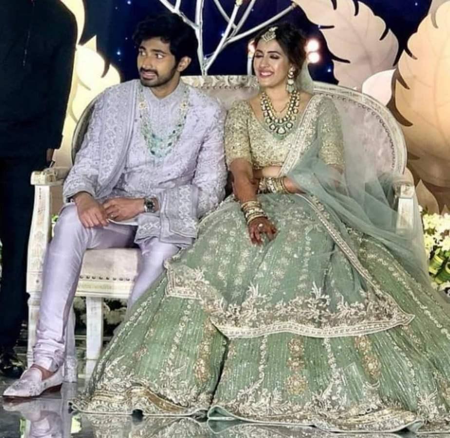 niharika chaithanya wedding reception