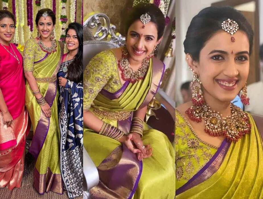 niharika konidela wedding pellikuturu function photos