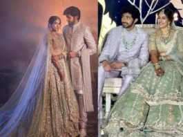 niharika konidela wedding reception photos