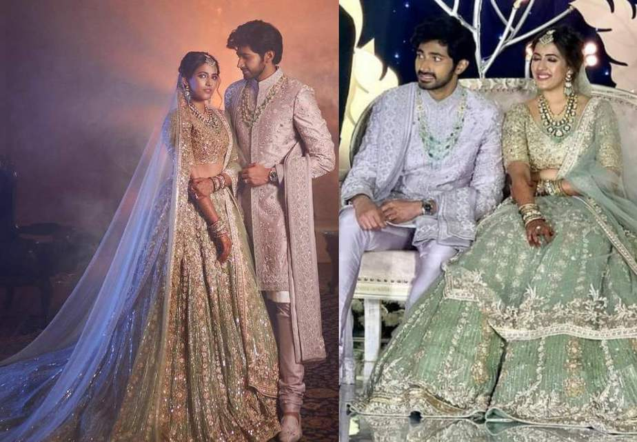 First photos from Niharika and Chaitanya's Hyderabad grand reception!