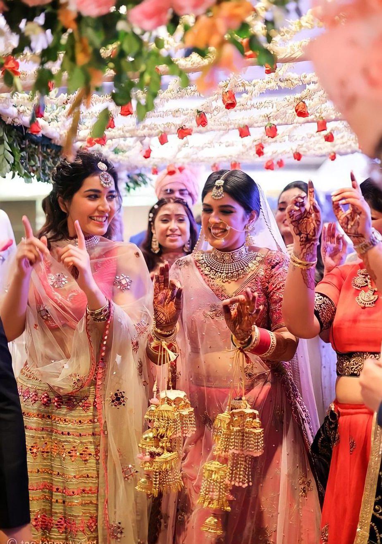 raashi khanna at her sister wedding