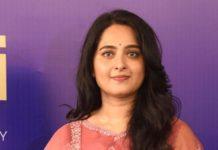 Anushka Shetty in a pink Torani kurta set for Shee Pahi conference2