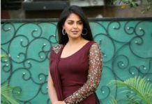 Monal Gajjar in a maroon ensemble by Atelier for dance plus1.4