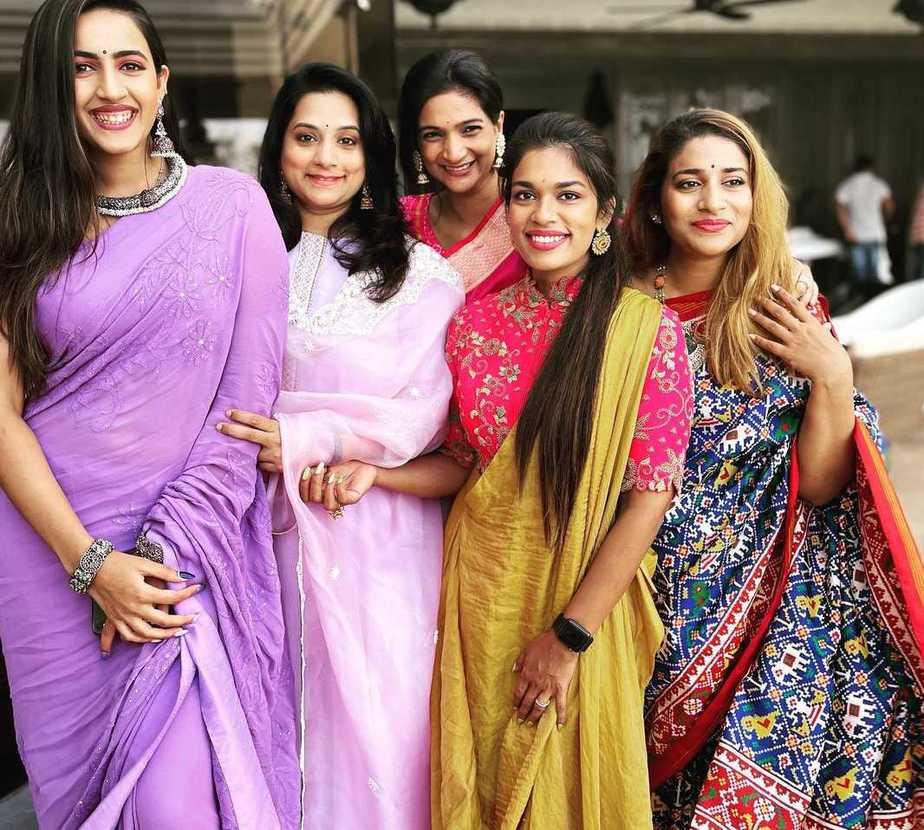 Niharika Konidela and Chaitanya for their bHogi 2021-2