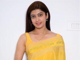 Pranitha Subhash in a handloom saree for Makar Sankranti