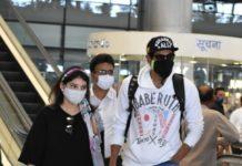 Rana Daggubati and Miheeka Bajaj airport look at RGI4