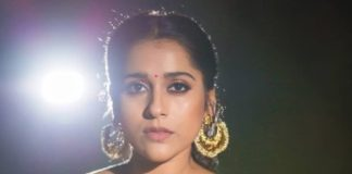 Rashmi gautam in yellow pink pattu saree by rr designs7