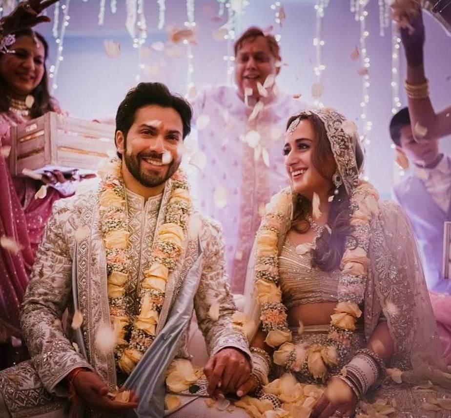 Varun Dhawan and Natasha dalal wedding pics1