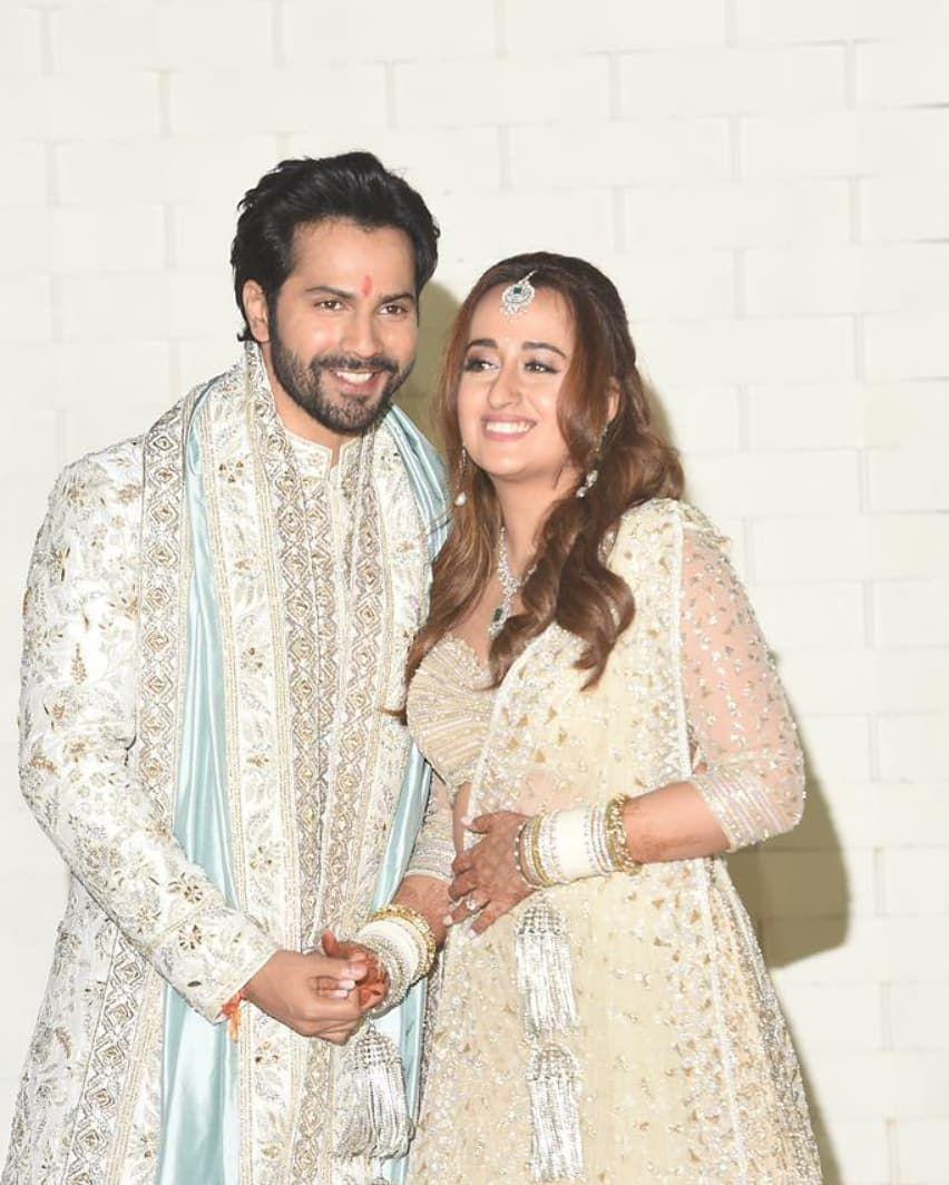 Varun Dhawan and Natasha dalal wedding pics6