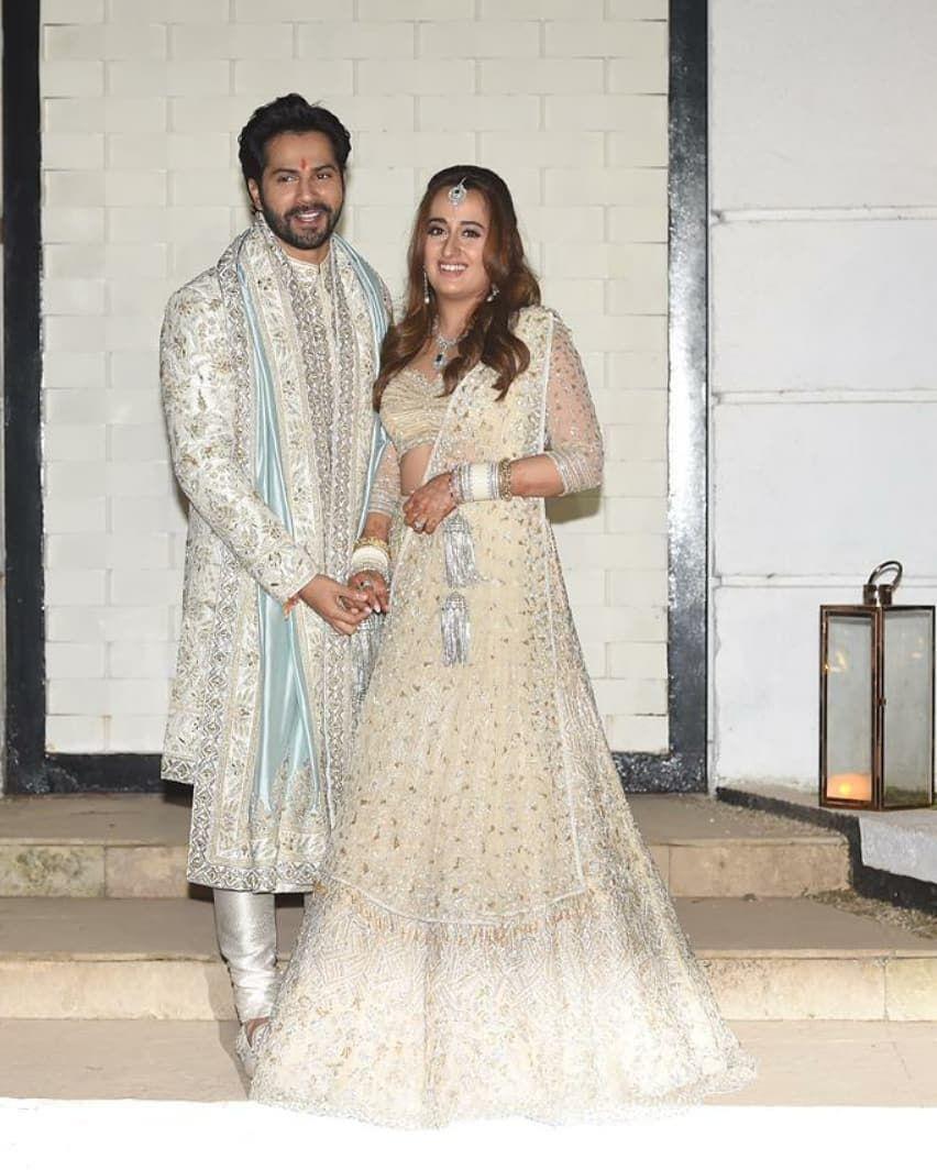 Varun Dhawan and Natasha dalal wedding pics7
