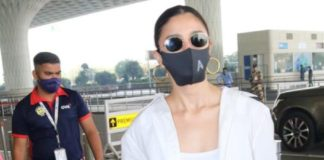 alia bhat is casual yet comfy casual look at airport